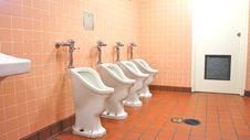 Free Unique Urinals Stock Photo - 21103270