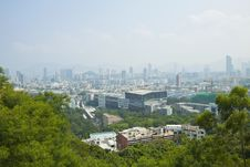Kowloon Area Of Hong Kong Downtown At Day Time Stock Photo