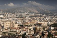 Free Marseilles Cityscape, Provence Stock Images - 21103954