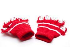 Free Children Gloves Stock Image - 21104341