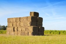 Free Bales Of Hay Royalty Free Stock Image - 21104606