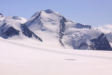 Breithorn Plateau Royalty Free Stock Photography