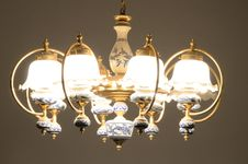 Chandelier Light Royalty Free Stock Image