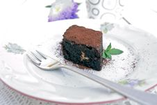 Free Slice Of Chocolate Cake Stock Images - 21105214