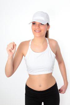 Free Woman Run Stock Photo - 21105320