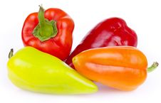 Free Fresh Bitter And Sweet Pepper Royalty Free Stock Photo - 21105495