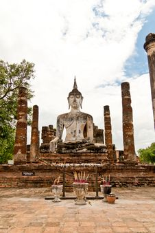 Free Sukhothai Historical Park Stock Photo - 21105880