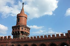 Free Tower On Oberbaumbruecke Stock Photos - 21106313