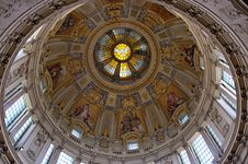 Free Ceiling Of Berlin Cathedral Stock Photography - 21106382