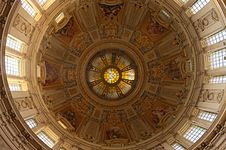 Free Ceiling Of Berlin Cathedral Stock Photos - 21106393