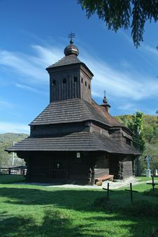 Free Wooden Church Stock Image - 21107001