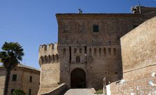 Free Castle Of Corinaldo Stock Photography - 21107402