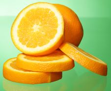 Free Orange And Orange Slices Stock Photography - 21107422