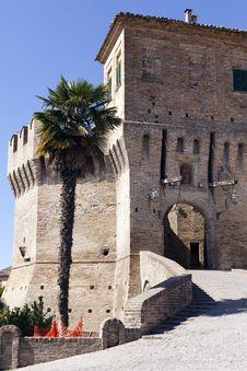 Free Castle Of Corinaldo Royalty Free Stock Images - 21107549
