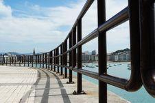 Handrail Royalty Free Stock Image