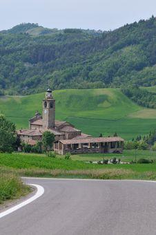 Free Parish Of St. Paolo - Val Di Nizza PV Italia (Casa Stock Photo - 21108030