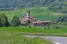 Free Parish Of St. Paolo - Val Di Nizza PV Italia (Casa Royalty Free Stock Photo - 21108065