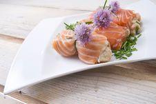 Salmon Dish Royalty Free Stock Images