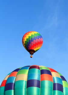 Free Hot Air Balloons Stock Photo - 21108900