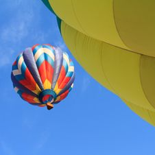Free Colorful Hot Air Balloon Stock Image - 21109041