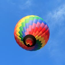 Free Colorful Hot Air Balloon Royalty Free Stock Photo - 21109045