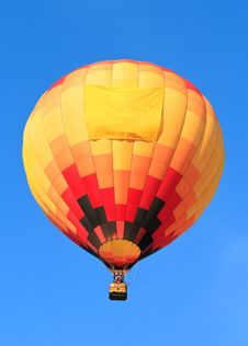 Free Colorful Hot Air Balloon Stock Images - 21109074