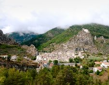 Free Entrevaux Town & Citadel Royalty Free Stock Image - 21109316