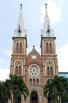 Free Saigon Notre Dame Basilica Stock Images - 21109484