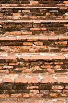Brick Stairs Stock Photos