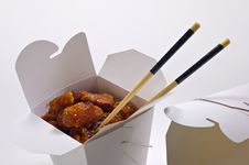 Free Chinese Takeout Stock Photography - 21109742
