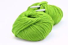 Free Knitting Yarn Stock Image - 21109951