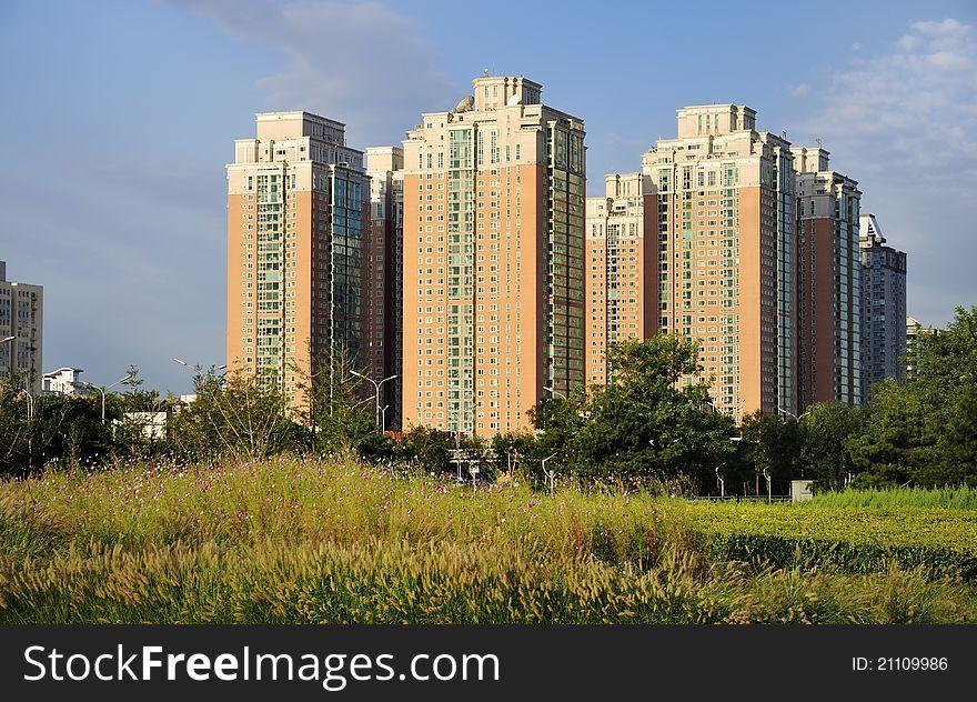 Apartment,Beijing skyline,China