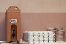 Free Coffee Dispenser Stock Photo - 21110090