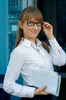 Free Business Lady Stock Images - 21110234