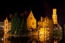 Medieval Centre Of Bruges Royalty Free Stock Photo