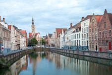 Free Medieval Centre Of Bruges Stock Photo - 21110350