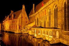 Medieval Centre Of Bruges Stock Photos