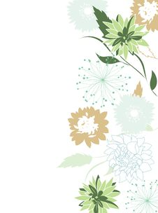 Free Floral Background Stock Images - 21110374