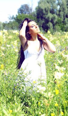 Free Summer Nimfa Stock Images - 21110414