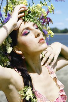 Free Summer Fairy Royalty Free Stock Images - 21110439