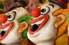 Free Sideshow Clowns Royalty Free Stock Photography - 21110767