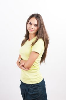 Free Confident Woman With Arms Crossed Stock Photo - 21110850