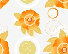Free Floral Seamless Background Stock Image - 21110861