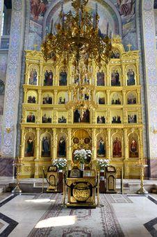 Free Golden Altar Stock Photo - 21111070