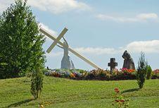 Free Jesus And Cross Stock Image - 21112301