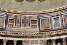 Free The Pantheon, Rome Royalty Free Stock Image - 21113026