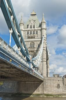 Free London Tower Bridge Stock Photo - 21113520