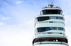 Free Air Traffic Control Tower Stock Image - 21113601