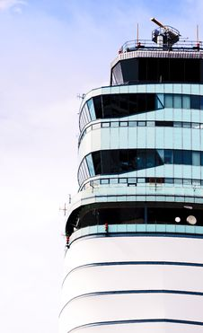Free Air Traffic Control Tower 2 Royalty Free Stock Photography - 21113687