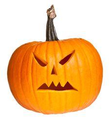 Free Halloween Scary Jack O Lantern Stock Images - 21114614